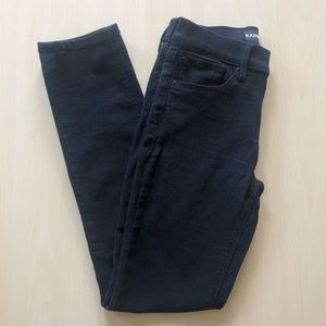EXPRESS Black Jeans Mid Rise Skinny Size 00S